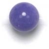 Semi-Precious 8mm Round Purple Candy Jade